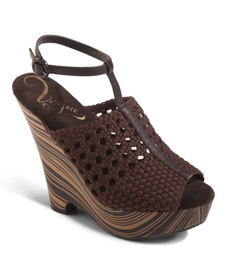 Brown Dirty Martini Wedge