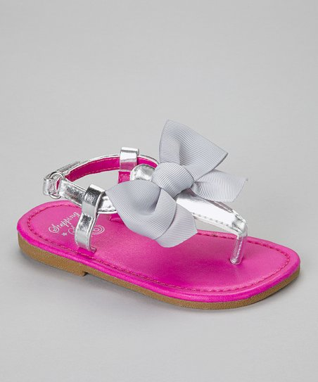Purple Bow Sandal