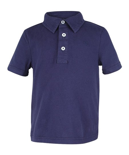 Deep Navy Polo - Infant, Toddler & Boys