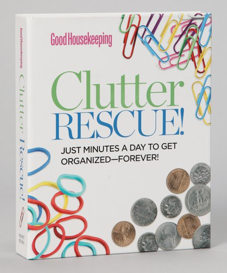 Good Housekeeping Clutter Rescue! Spiral Book