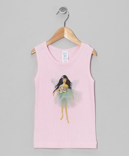 Sticky Pixies Pink Ruby Tank - Toddler &amp; Girls