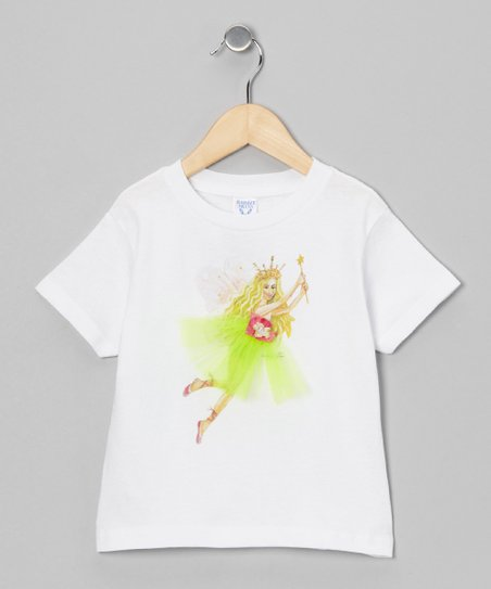 Sticky Pixies White Queen Tatiana Tee - Toddler & Girls