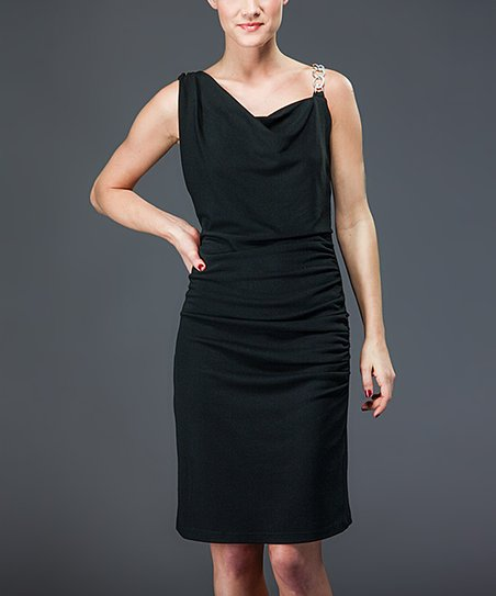 Black Chain Sleeveless Dress