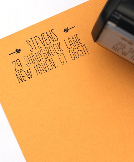 All Things Point to It Personalized Self-Inking Stamp