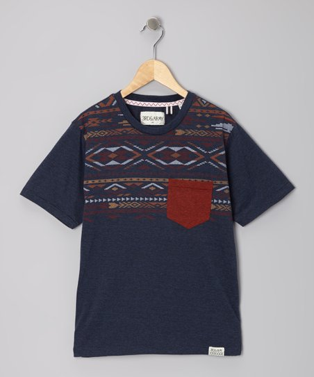 Indigo Makers Pocket Tee