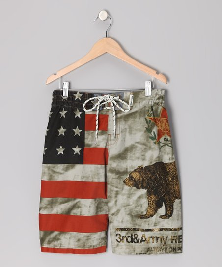 Red Republic Bear Boardshorts