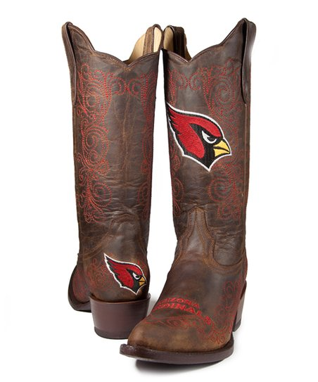 Arizona Cardinals Flyover Cowboy Boot - Women