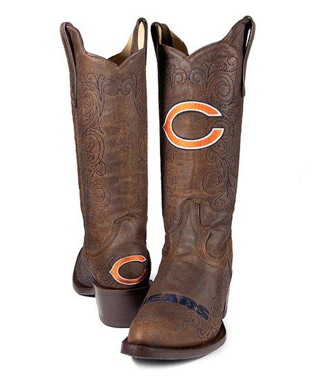 Chicago Bears Flyover Cowboy Boot - Women