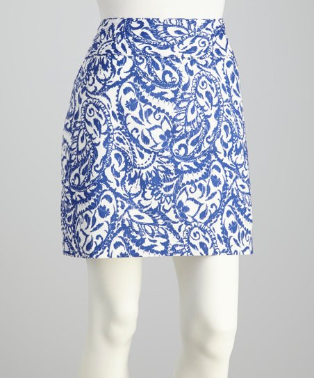 Iris Etched Paisley Skirt - Women