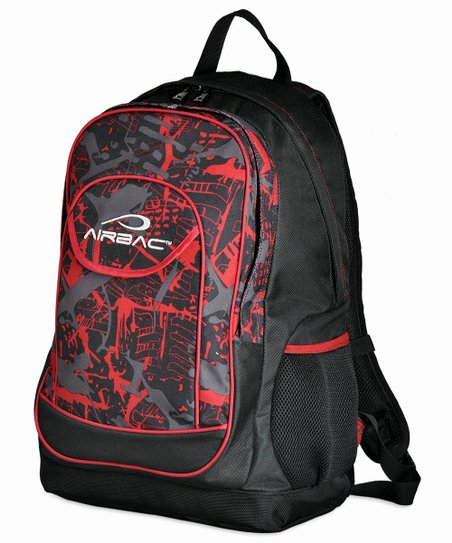 Red Groovy Backpack