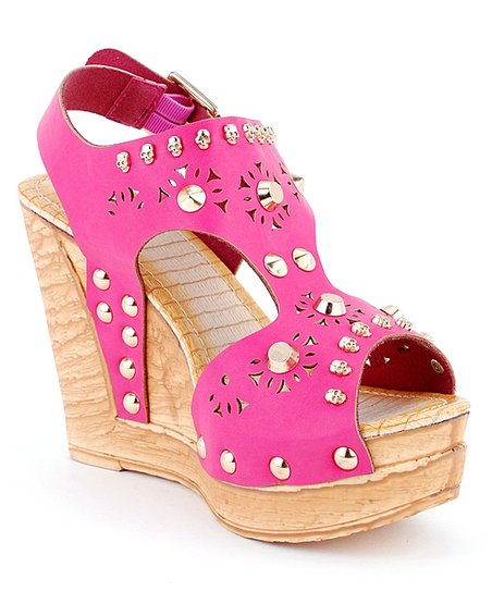 Fuchsia Eden-02 Wedge