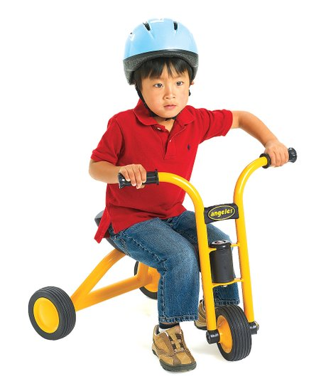 Yellow MyRider Mini Pusher Trike