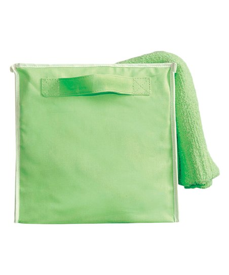 Green Storage Cube - Set of Two