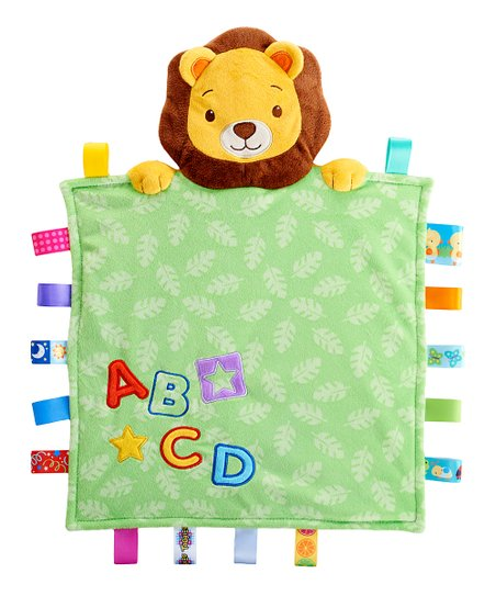 Green Lion Peekaboo Blanket