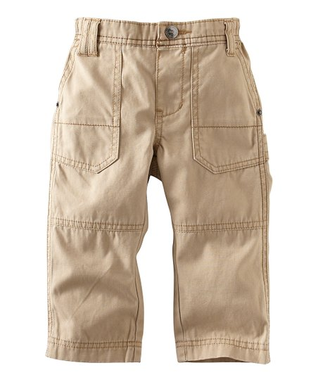 British Khaki Surplus Pants - Infant & Girls