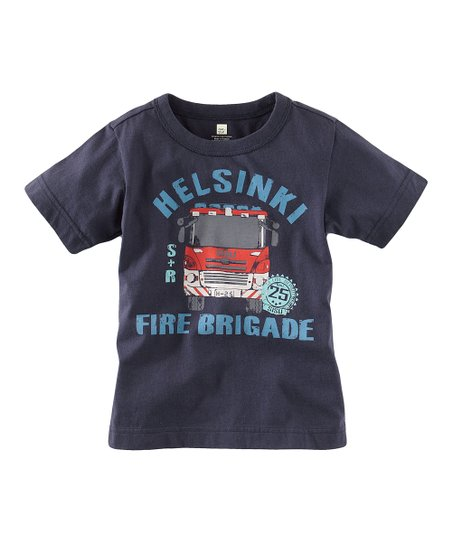 Indigo 'Fire Brigade' Tee - Infant & Boys