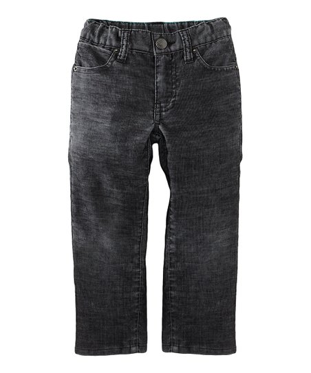 Blue Awesome Corduroy Pants - Infant, Toddler & Boys