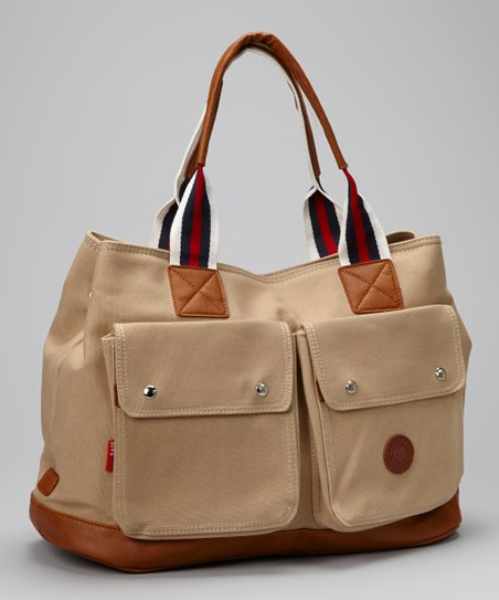 Khaki Classic Jennifer Diaper Bag