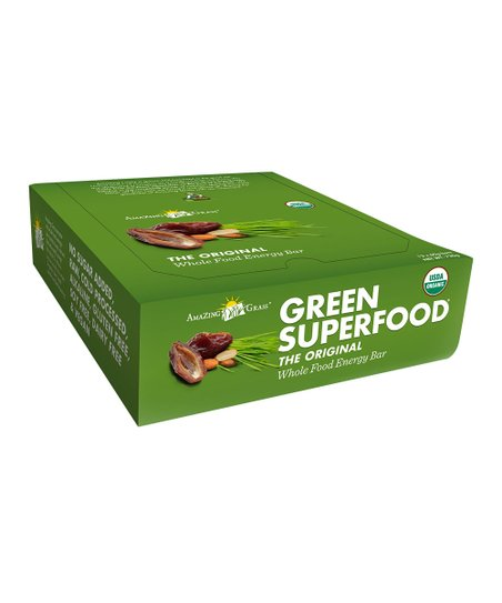 Organic Original Green SuperFood Bar – Set of 12