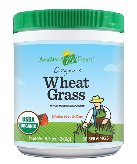 Organic Wheat Grass Powder – 30 Servings