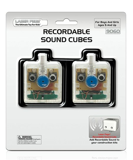 Recordable Sound Cubes