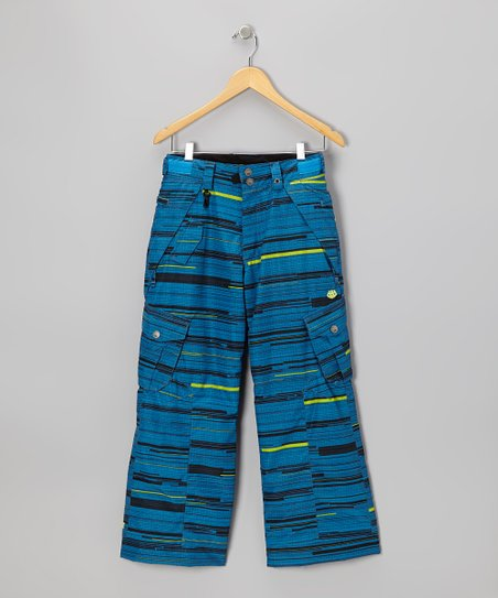 Blue Smarty Streak Cargo Pants