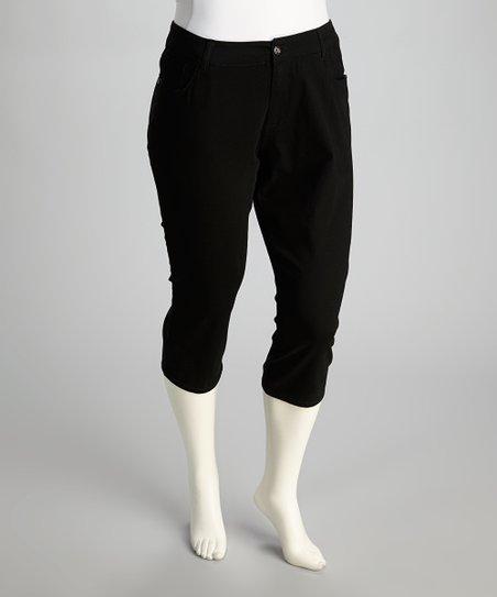 Black Capri Pants – Plus