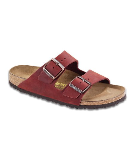 Henna Leather Arizona Slide - Men