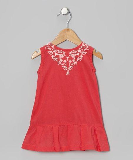 Pink Ella Drop-Waist Dress – Infant & Toddler