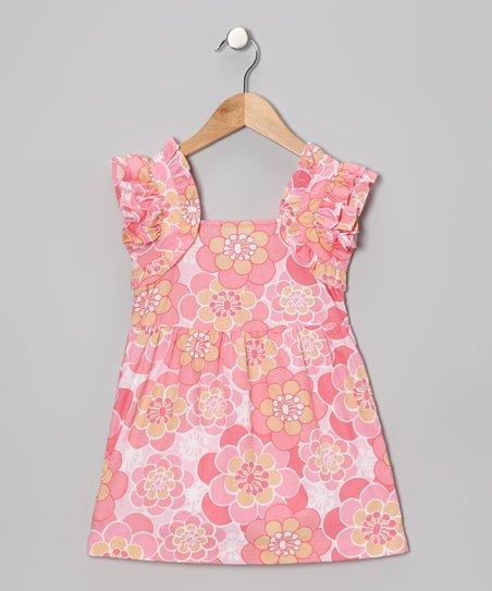 Pink Floral Madeline Dress – Infant & Toddler
