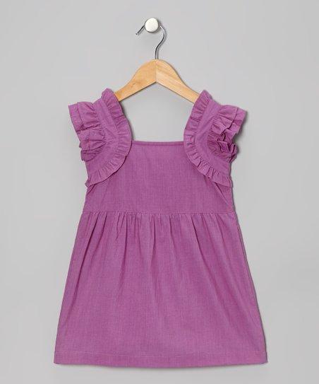 Purple Madeline Dress – Infant & Toddler