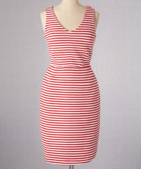 Red Vintage Ponte Dress - Women