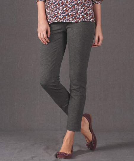 Dark Gray Pants - Women