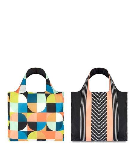 Echo Circle & Echo Stripe Reusable Bag Set