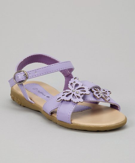 Purple Butterfly Sandal