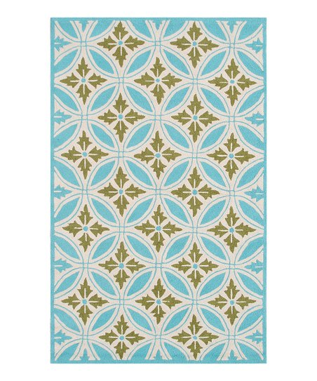 Blue &amp; Green Florin Rug