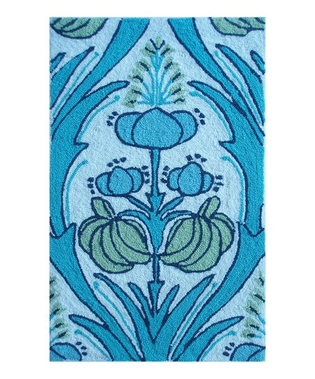 Aqua & Green Kelmscott Indoor/Outdoor Rug