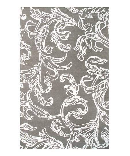 Gray & Off-White Cordelia Indoor/Outdoor Rug