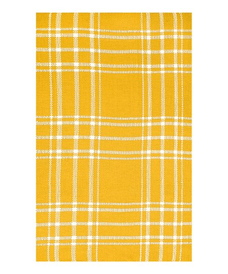 Yellow & Ivory Kelton Indoor/Outdoor Rug