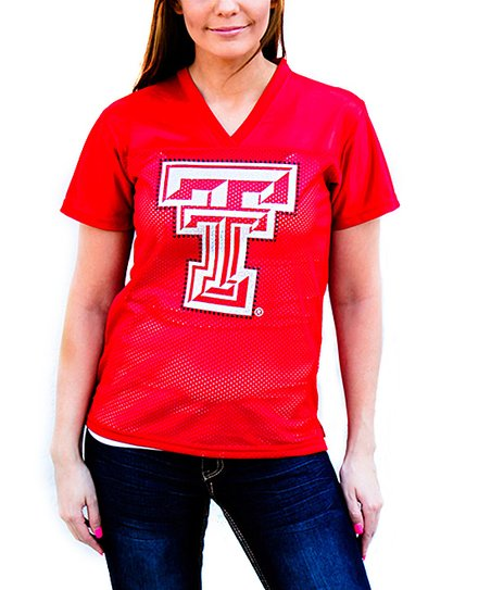 Texas Tech Red Raiders V-Neck Jersey - Women