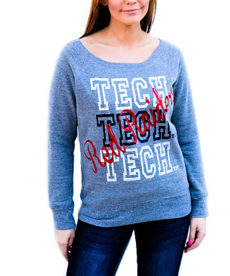 Texas Tech Red Raiders Boatneck Top - Women