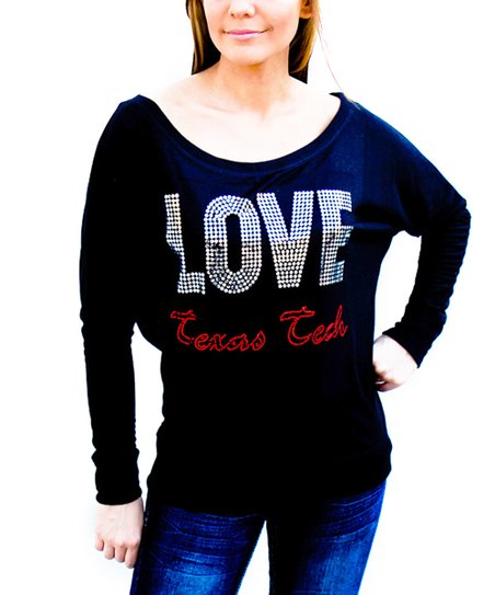 Texas Tech Red Raiders 'Love' Dolman Tee - Women