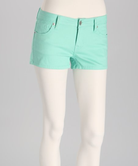 Beach Glass Denim Shorts