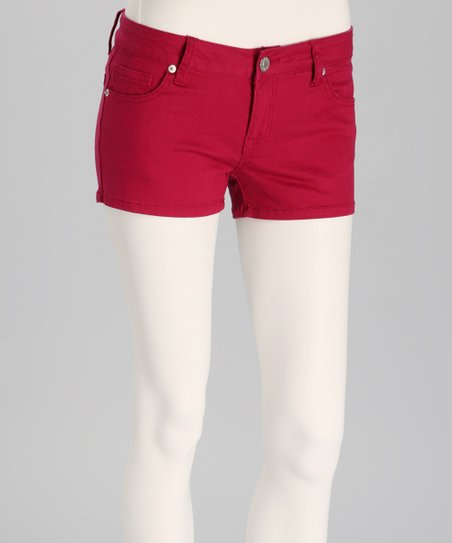 Sangria Denim Shorts