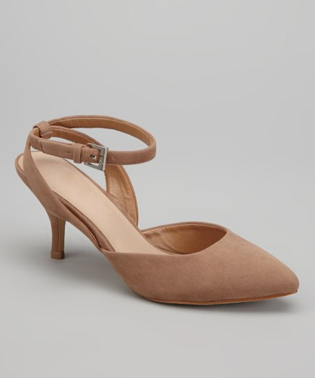 Nude Nicki Kitten Heel