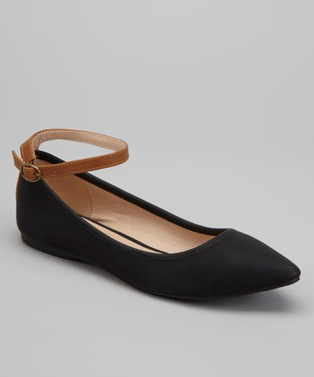 Black Regan Ballet Flat