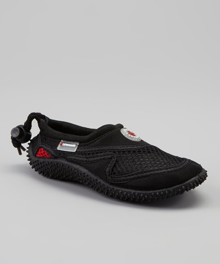 Black & Red Water Shoe