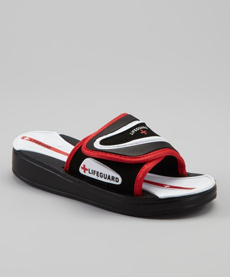 Black & Red Slide