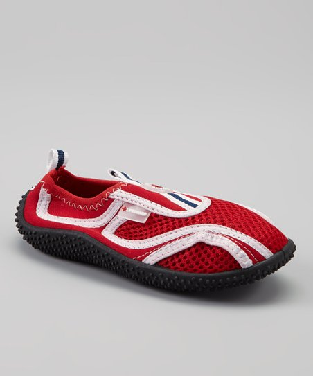Red Slip-On Water Shoe