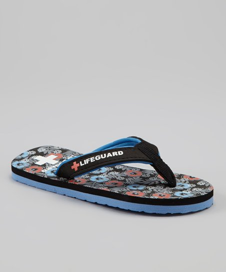 Black Hawaiian Flip-Flop